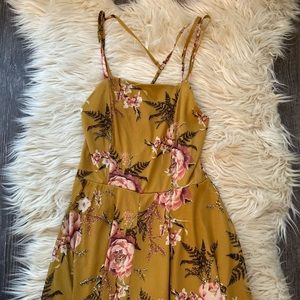 Target floral romper size small